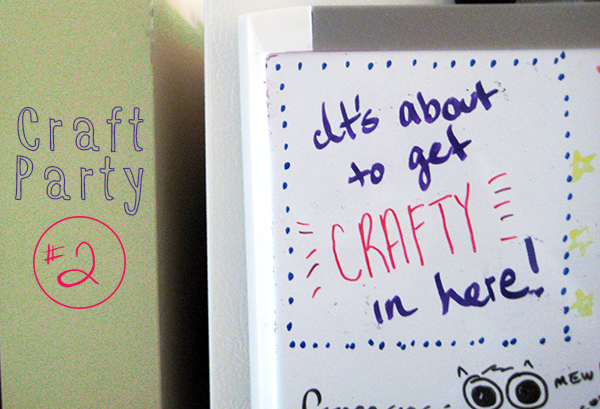 Craft Party #2 // Boots & Cats