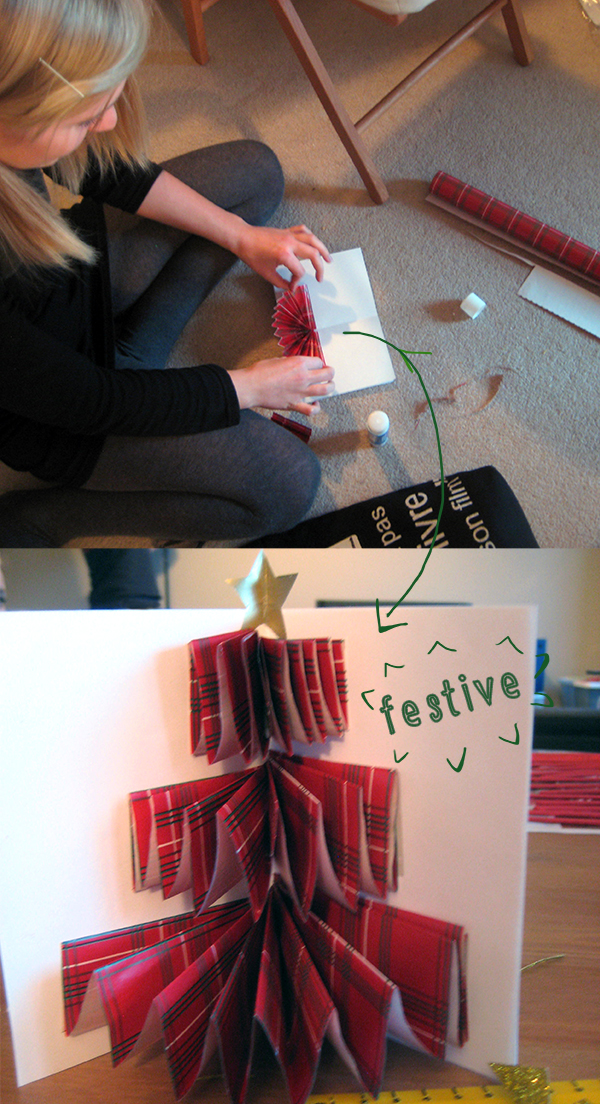 Festive Cards // Boots & Cats
