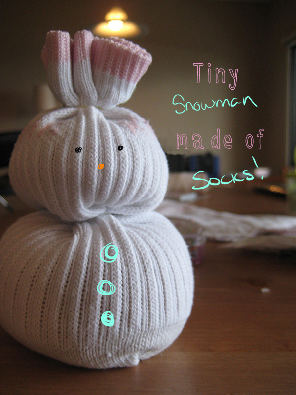 Tiny Snowman! // Boots & Cats