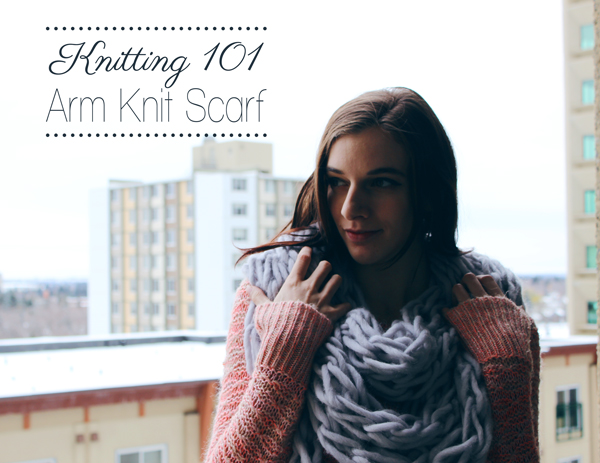Arm Knitting // Boots & Cats