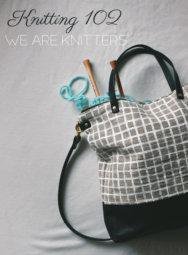 We Are Knitters // Boots & Cats