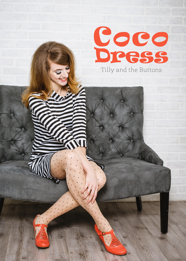 Tilly and the Buttons Coco Dress // Boots and Cats