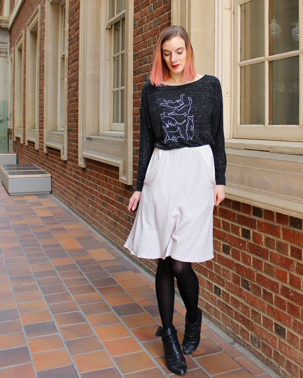 Zadie Separates // Boots and Cats